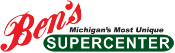 A theme logo of Ben's Supercenter